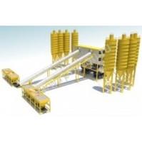 Стационарный бетонный завод HZS 180/2 (ленточный)