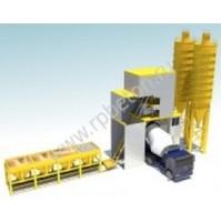 Стационарный бетонный завод HZS 120D (контейнерный)