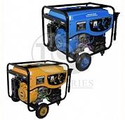 Бензиновый генератор синх. 5,0кВт(COP), 220В, бензин АИ-92, бак 25 л, эл.стартер, колеса