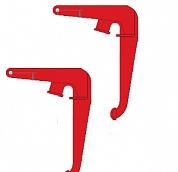 Захват вертикальный г/п 0,6тн (ETM-SL-148 типа) для бочек