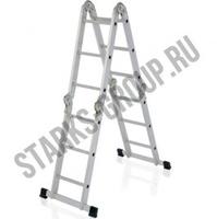 Трансформер лестница четырехсекционная 1.22м
