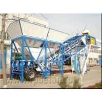 Мобильный бетонный завод YHZS 120 (транспортируемый)